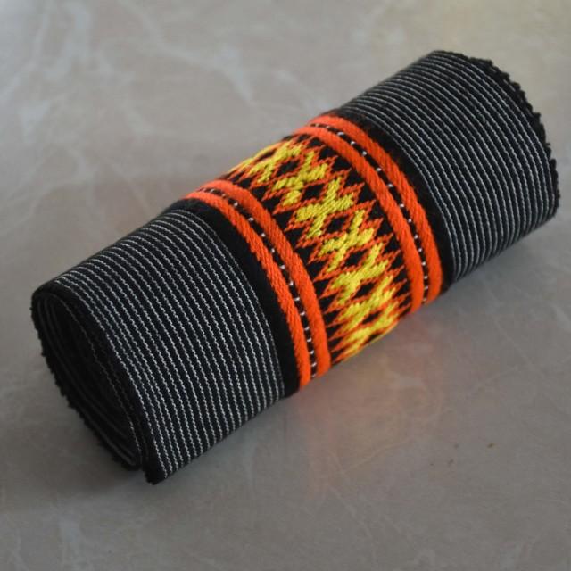 نوار دست دوز سنتی بلوچی طول 100 و عرض 5.5 سانت مدل NVR-03
