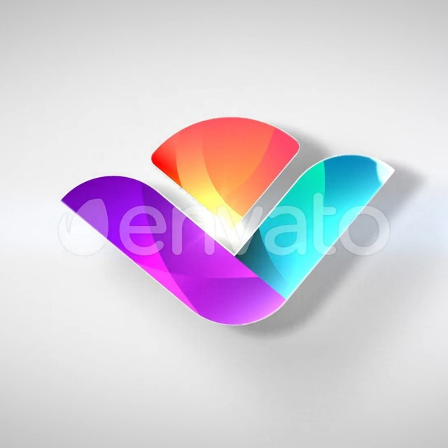 پروژه آماده افترافکت لوگو موشن Clean 3D Logo Reveal