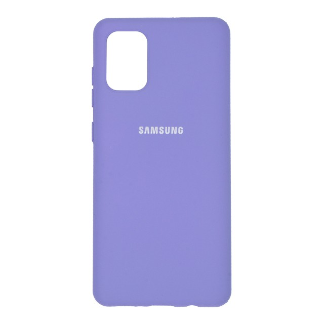 قاب گوشی سامسونگ Galaxy A71 سیلیکونی مدل RSU-ST