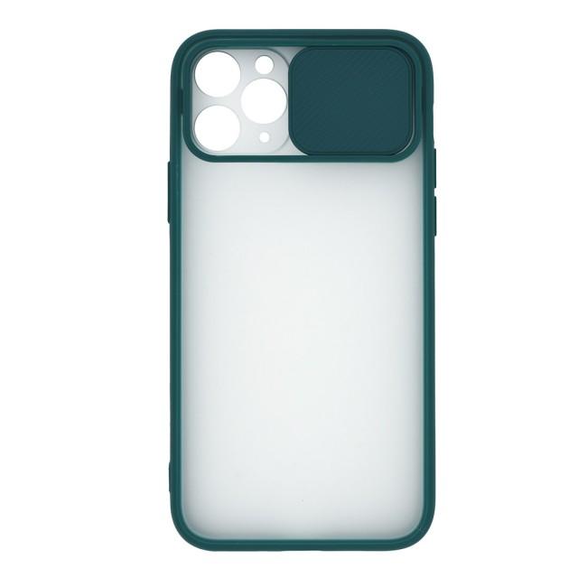 قاب گوشی اپل iPhone 11 Pro پشت مات کشویی محافظ لنز مدل K-MLNZ
