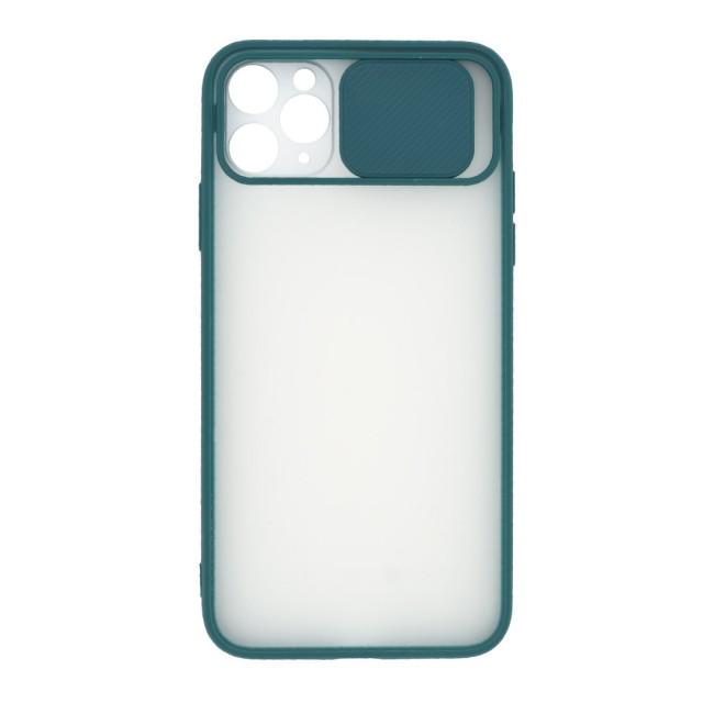 قاب گوشی اپل iPhone 11 Pro Max پشت مات کشویی محافظ لنز مدل K-MLNZ