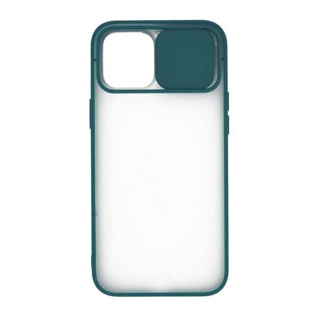 قاب گوشی اپل iPhone 12 Pro Max پشت مات کشویی محافظ لنز مدل K-MLNZ
