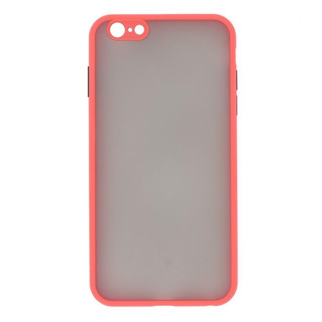 قاب گوشی اپل iPhone 6/6s Plus پشت مات محافظ لنز دار مدل M-LNZ