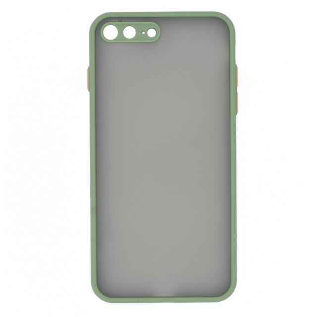 قاب گوشی اپل iPhone 7/8 Plus پشت مات محافظ لنز دار مدل M-LNZ