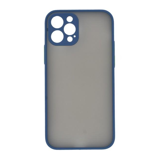 قاب گوشی اپل iPhone 12 Pro پشت مات محافظ لنز دار مدل M-LNZ