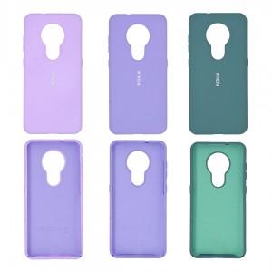 قاب گوشی سیلیکونی مدل RSU-ST برای موبایل نوکیا 7.2