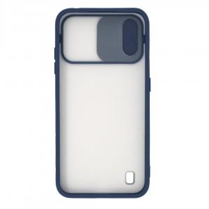 قاب گوشی پشت مات کشویی محافظ لنز مدل K-MLNZ برای گوشی موبایل سامسونگ Galaxy A01
