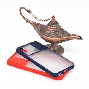 کاور گوشی پشت مات کشویی محافظ لنز مدل K-MLNZ برای گوشی موبایل سامسونگ Galaxy A11 / M11