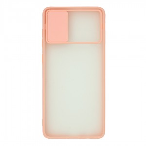 کاور گوشی پشت مات کشویی محافظ لنز مدل K-MLNZ برای گوشی موبایل سامسونگ Galaxy A51 4G