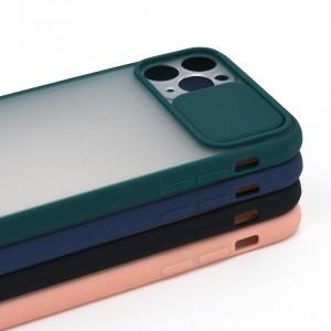 خرید قاب گوشی پشت مات کشویی محافظ لنز مدل K-MLNZ برای گوشی موبایل اپل iPhone 11 Pro