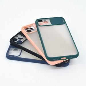 قاب محافظ گوشی پشت مات کشویی محافظ لنز مدل K-MLNZ برای گوشی موبایل اپل iPhone 11 Pro Max