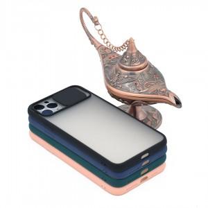 خرید کاور گوشی پشت مات کشویی محافظ لنز مدل K-MLNZ برای گوشی موبایل اپل iPhone 11 Pro Max