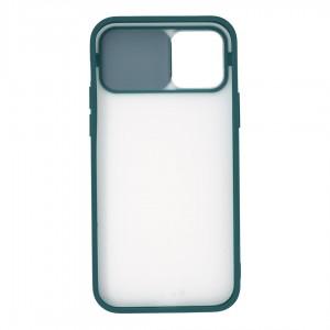 قاب گوشی پشت مات کشویی محافظ لنز مدل K-MLNZ برای گوشی موبایل اپل iPhone 12 Pro