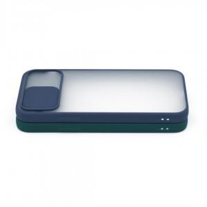 گارد گوشی پشت مات کشویی محافظ لنز مدل K-MLNZ برای گوشی موبایل اپل iPhone 12 Pro