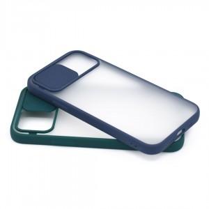 خرید کاور گوشی پشت مات کشویی محافظ لنز مدل K-MLNZ برای گوشی موبایل اپل iPhone 12 Pro