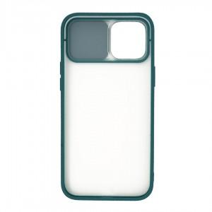 قاب گوشی پشت مات کشویی محافظ لنز مدل K-MLNZ برای گوشی موبایل اپل iPhone 12 Pro Max