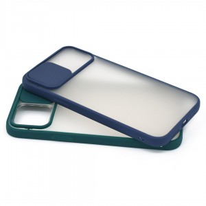 گارد گوشی پشت مات کشویی محافظ لنز مدل K-MLNZ برای گوشی موبایل اپل iPhone 12 Pro Max