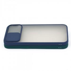 قاب محافظ گوشی پشت مات کشویی محافظ لنز مدل K-MLNZ برای گوشی موبایل اپل iPhone 12 Pro Max