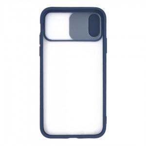 قاب گوشی پشت مات کشویی محافظ لنز مدل K-MLNZ برای گوشی موبایل اپل iPhone X /XS
