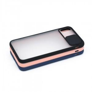 قاب گوشی پشت مات کشویی محافظ لنز مدل K-MLNZ برای گوشی موبایل اپل iPhone XS Max