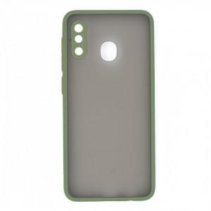قاب گوشی پشت مات محافظ لنز دار مدل M-LNZ برای گوشی موبایل سامسونگ Galaxy A30