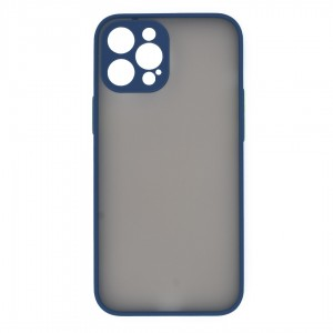 قاب گوشی پشت مات محافظ لنز دار مدل M-LNZ برای گوشی موبایل اپل iPhone 12 Pro Max