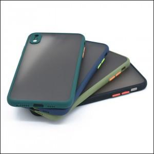 قاب گوشی پشت مات محافظ لنز دار مدل M-LNZ برای گوشی موبایل اپل iPhone XS Max