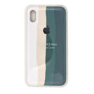 قاب سیلیکونی رنگین کمانی  iPhone XS Max
