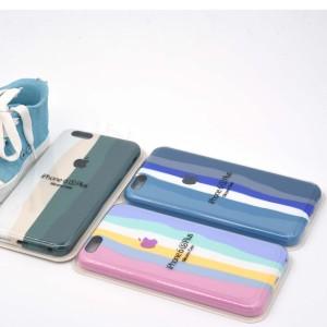 قیمت قاب سیلیکونی رنگین کمانی اپل iPhone 6/6s Plus
