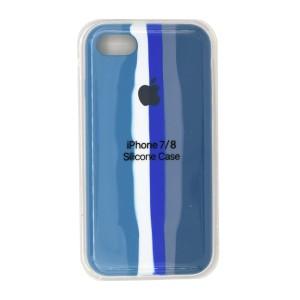 خرید قاب  سیلیکونی رنگین کمانی زیر بسته اپل iPhone 7/8