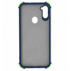 قاب گوشی پشت مات کپسولی ضربه گیر MDZ برای موبایل سامسونگ Galaxy A11
