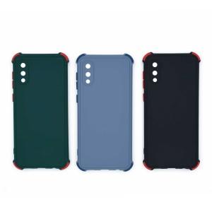 قاب گوشی ضربه گیر سیلیکونی SDR دکمه رنگی برای موبایل سامسونگ Galaxy A02