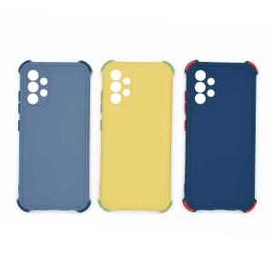 قاب گوشی ضربه گیر سیلیکونی SDR دکمه رنگی برای موبایل سامسونگ Galaxy A32 4G