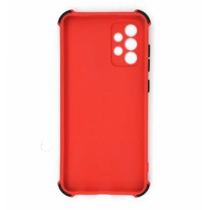 قاب گوشی ضربه گیر سیلیکونی SDR دکمه رنگی برای موبایل سامسونگ Galaxy A72