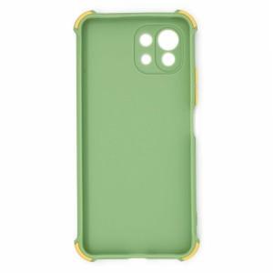 قاب گوشی ضربه گیر سیلیکونی SDR دکمه رنگی برای موبایل شیائومی Mi 11 Lite