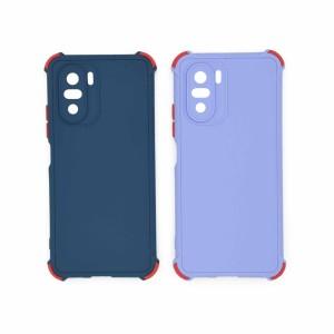 قاب گوشی ضربه گیر سیلیکونی SDR دکمه رنگی برای موبایل شیائومی Mi 11 X 5G