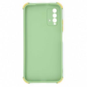 قاب گوشی ضربه گیر سیلیکونی SDR دکمه رنگی برای موبایل شیائومی Redmi 9T