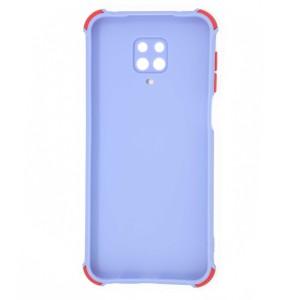 قاب گوشی ضربه گیر سیلیکونی SDR دکمه رنگی برای موبایل شیائومی Redmi Note 9s / 9 Pro