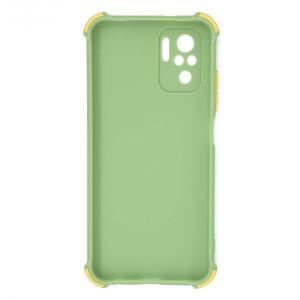 قاب گوشی ضربه گیر سیلیکونی SDR دکمه رنگی برای موبایل شیائومی Redmi Note 10 / 10s