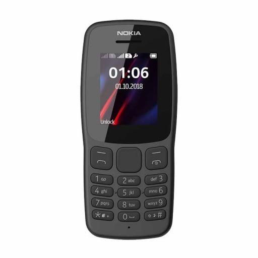 گوشی موبایل نوکیا 106 ظرفیت 4 مگابایت و رم 4 مگابایت