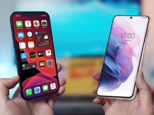 مقایسه اپل Iphone 12 و سامسونگ Galaxy s21