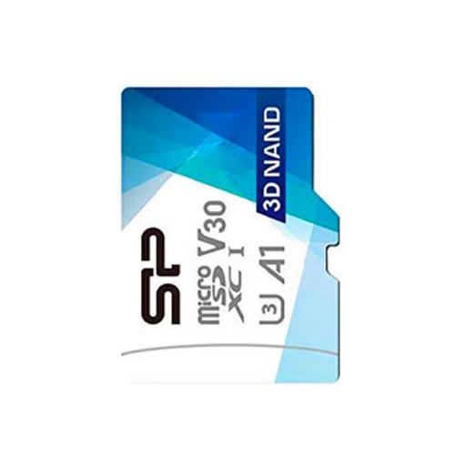 کارت حافظه سیلیکون پاور Micro SDXD Superior Pro U3 V30 100Mb/s کلاس 10 ظرفیت 128 گیگابایت