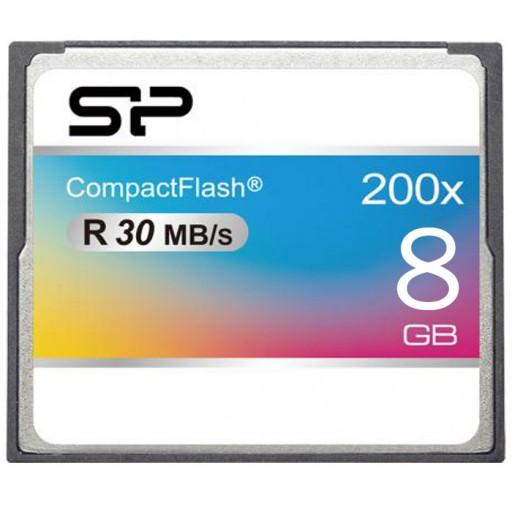 کارت حافظه سیلیکون پاور مدل CF 200X سرعت 30 مگابایت بر ثانیه ظرفیت 8 گیگابایت