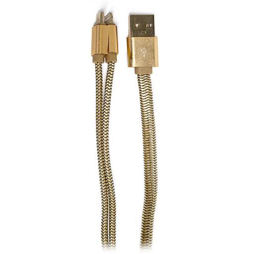کابل میکرو USB و لایتینگ کینگ استار مدل KS68