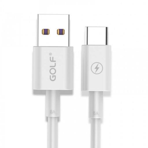 کابل شارژ USB Type-C گلف GC-42 طول 100 سانتی متر