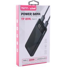 پاور بانک تسکو TP 859L ظرفیت 10000 میلی آمپر ساعت