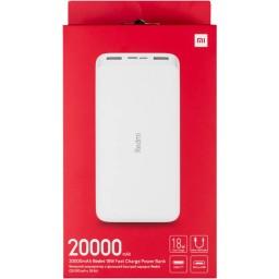 پاور بانک شیائومی Redmi PB200LZM ظرفیت 20000 میلی آمپر ساعت همراه با کابل (پکیج 5 تایی)