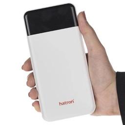 شارژر همراه هترون مدل HPB20000Di ظرفیت 20000 میلی آمپر ساعت