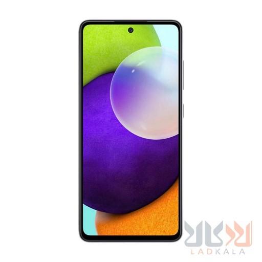 گوشی موبایل سامسونگ گلکسی A52 ظرفیت 128 گیگابایت و رم 8 گیگابایت صفحه نمایش 6.5 اینچ دوربین 64 مگاپیکسل 18 ماه گارانتی ریجستر شده