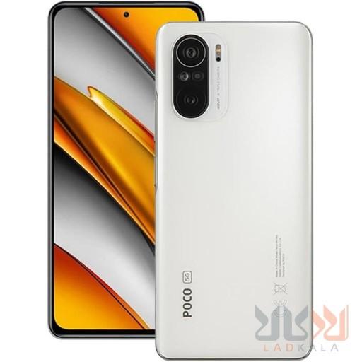 گوشی موبایل شیائومی Poco F3 5G ظرفیت 256 گیگابایت و رم 8 گیگابایت صفحه نمایش 6.67 اینچ دوربین 48 مگاپیکسل 18 ماه گارانتی ریجستر شده